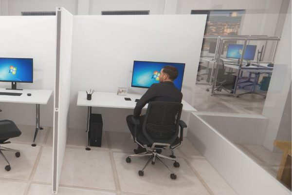 office wall divider_Personal Protective Equipment (PPE)
